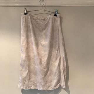 First Base Metallic Skirt