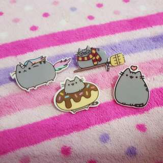 Pusheen Cat Brooch