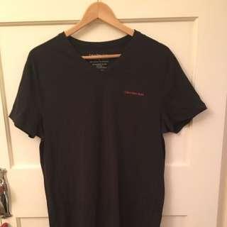 Calvin Klein T-Shirt Skinny Fit Size L