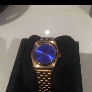 Gold Ladies Nixon Watch
