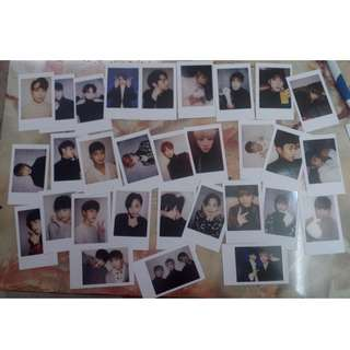 Seventeen carat land official photocard set