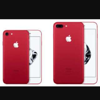 Iphone 7 (Red ) Limited Edition 256GB