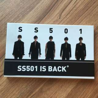 SS501 is back CD + Diary + Poster