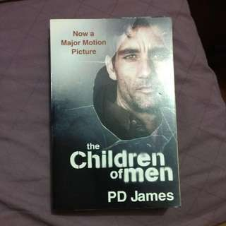 The Children Of Men By PD James