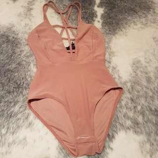 Nude Edge Bodysuit - Size 10