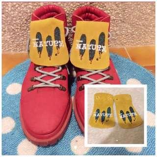 🚚 鞋舌 - 可任意搭配在有鞋帶的鞋上👟