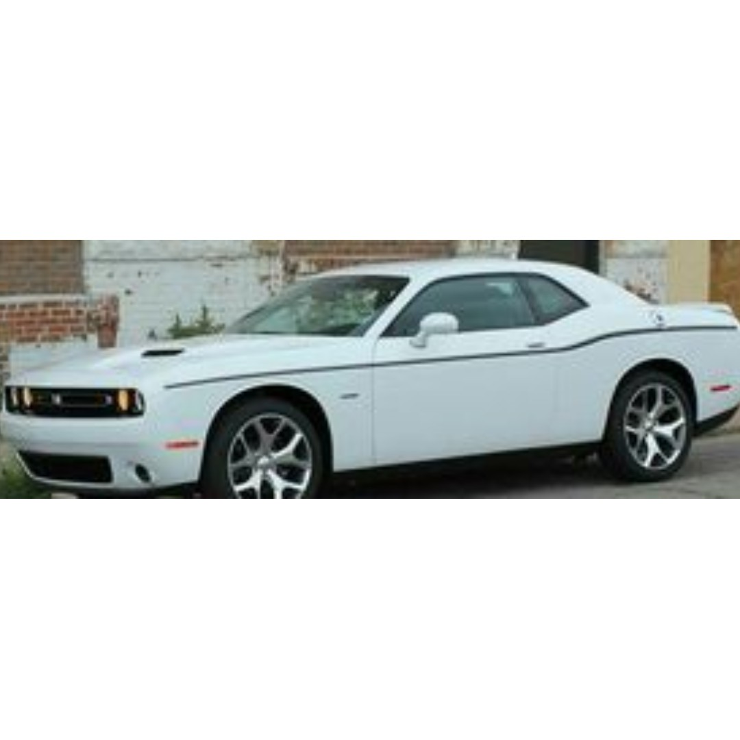 2012 - 2017 Dodge Challenger SXT SIDE STRIPE Body Decal Vinyl Graphic
