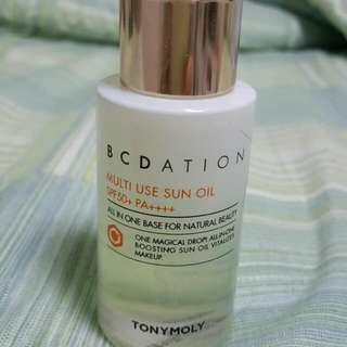 TonyMoly BCDATION Sun Oil SPF 50++