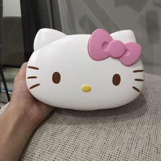 Tempat Tissue Basah Hello Kitty