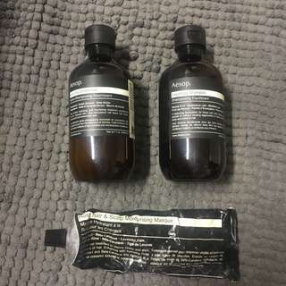 Aesop Shampoo, Conditioner And Hair Mask