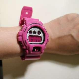 G-Shock 桃紅手錶