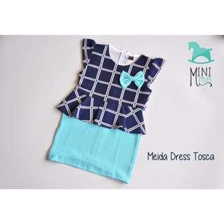 Dress Anak Meida (Blue)
