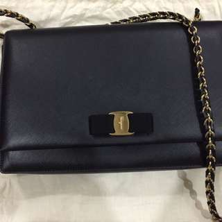 Salvatore Ferragamo Shoulder Bag 100% Authentic