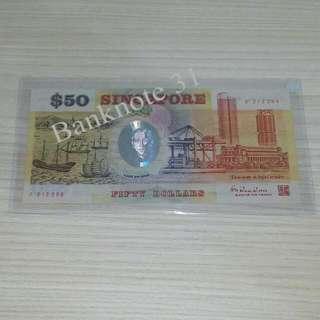 SG25 Singapore Commemorative note $50