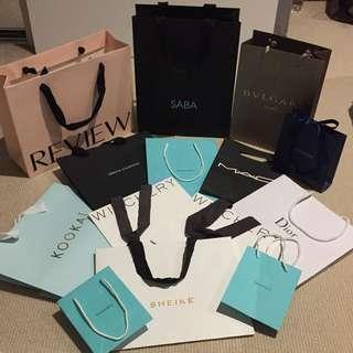 Designer Paper/Gift Bags