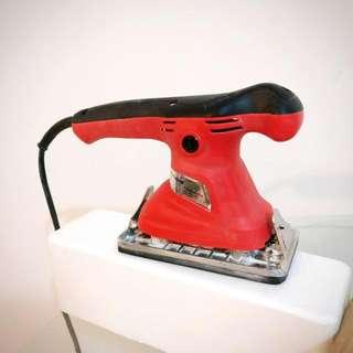 砂光機打磨機,送砂紙,打磨墻及木傢私適用,磨平後上漆