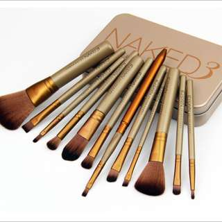 Naked 3 brushes Urban Decay