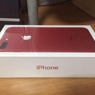 Iphone7 Plus 紅色