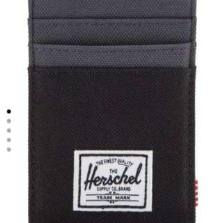 Herschel Raven Card Holder