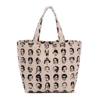 日本人氣創意商店 ASOKO 鼻血人 手提包 手提袋 便當袋 小包