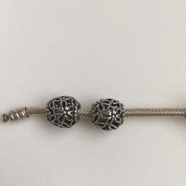 2 Pandora Charms
