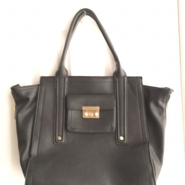 3.1 Philip Lim For Target XL Black Shoulder Bag