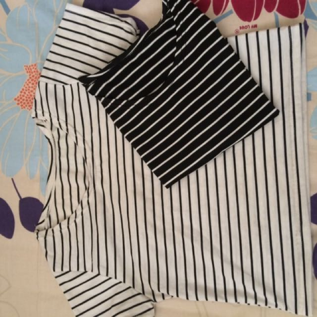 40rb=2 Strip Tshirt
