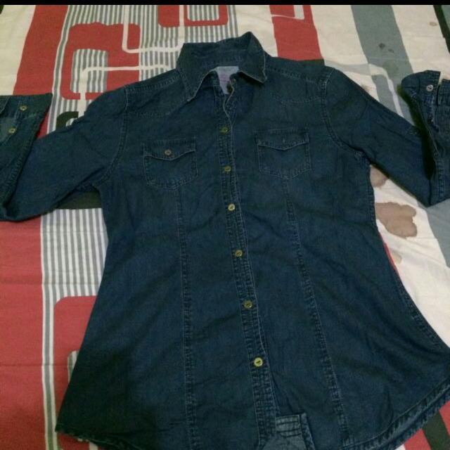 90degrees Kemeja Jeans