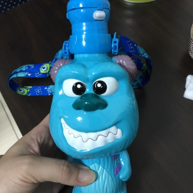 香港迪士尼毛怪水壺