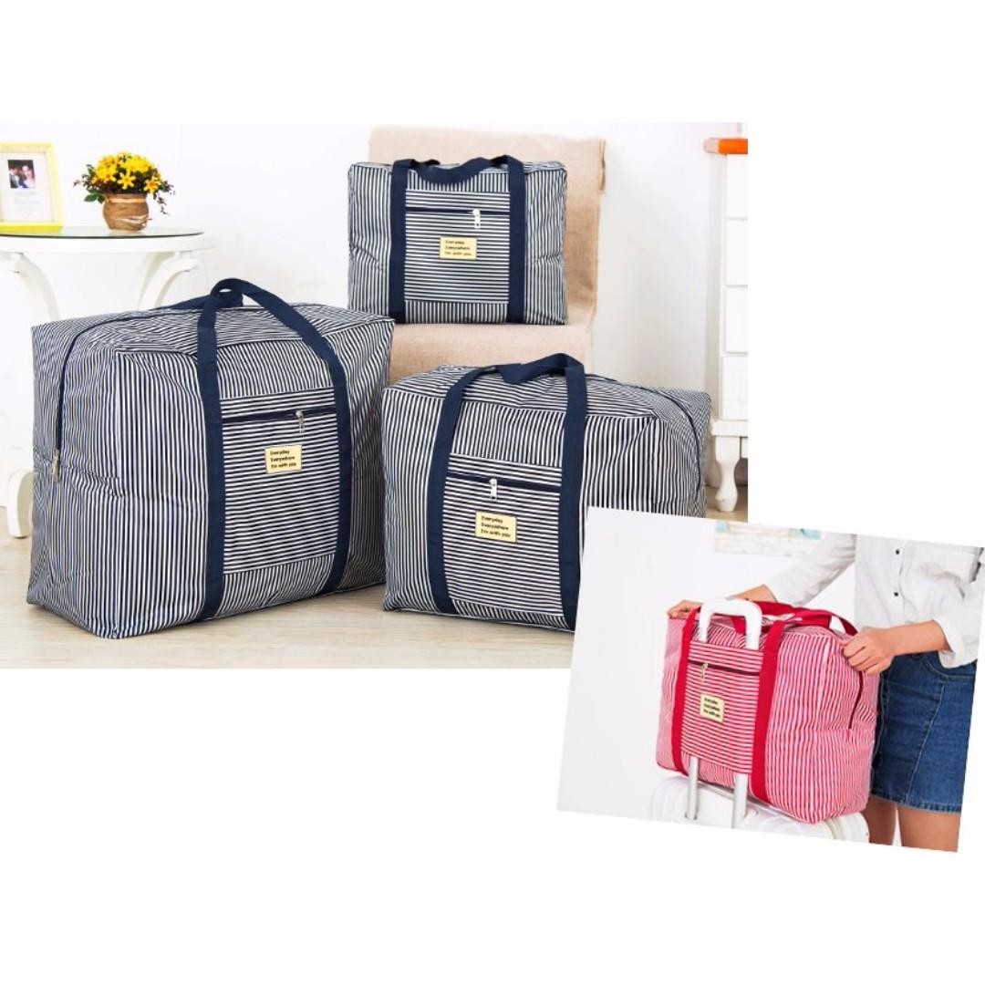 棉被收納袋 出差旅行收納袋 搬家袋 手提袋 購物袋 衣物整理袋 拉桿行李箱#b115