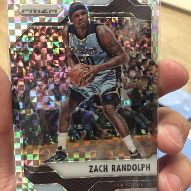灰熊 支柱 Zach Randolph 鑽卡 特卡 兩張一起賣
