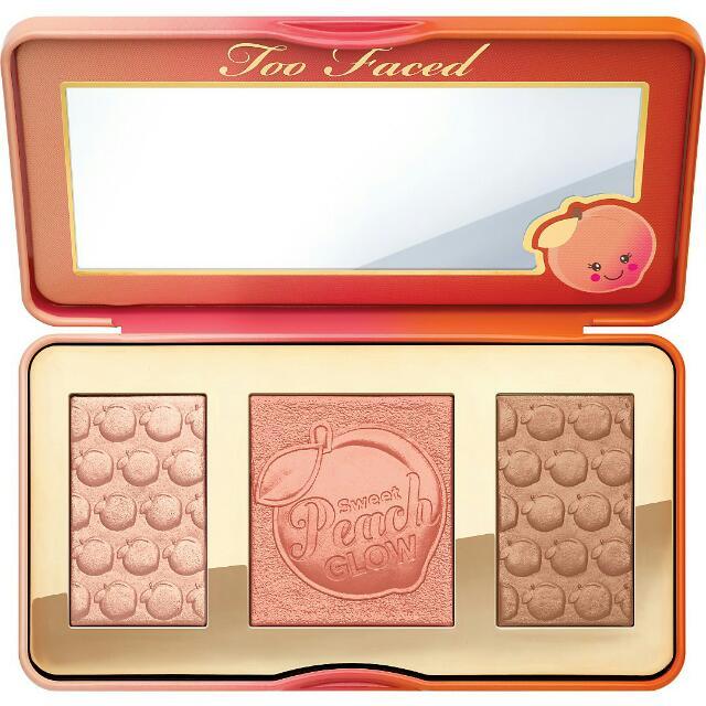 [正品保證~現貨!] TOO FACED sweet peach glow 蜜桃打亮修容盤
