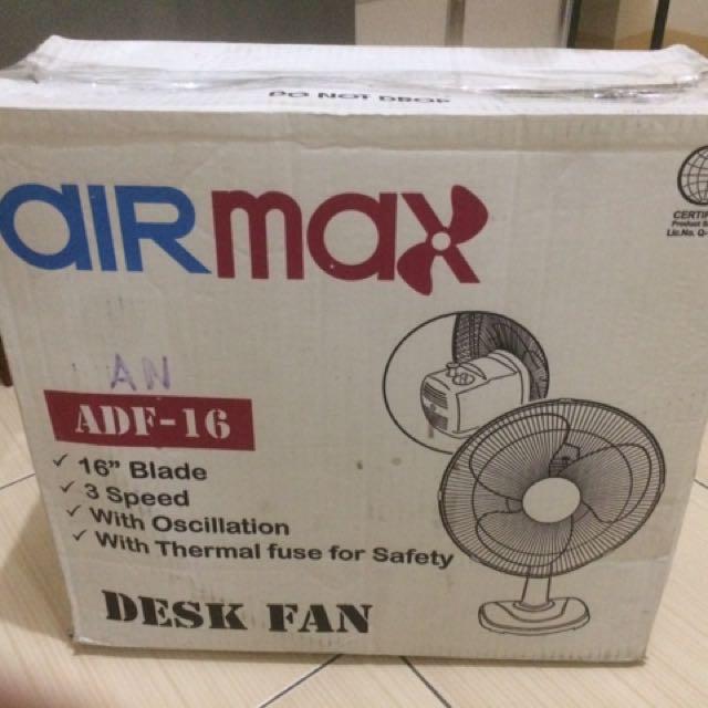 Airmax Desk Fan