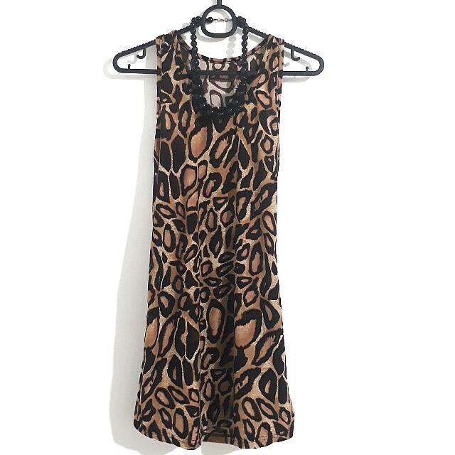 SUMMER SALE!!💕 Animal Printed Dress