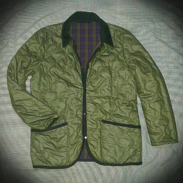 Army Look Button Flanel Down Jacket Unbrand