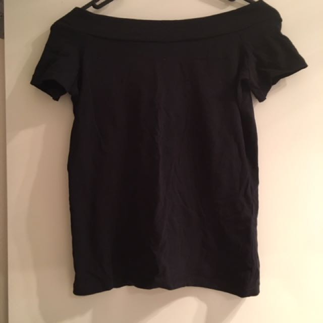 Atmosphere Off The Shoulder Tee