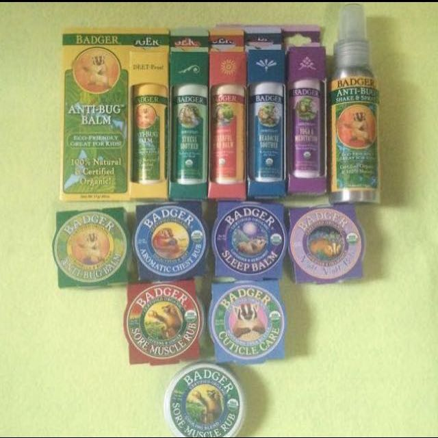 Badger Balms For Mummies And Babies