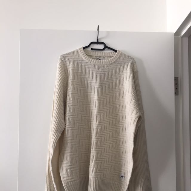 Men's Bellfield knitted Jumper Size L