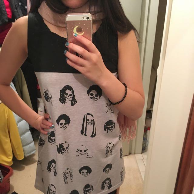 Black And Grey Dress