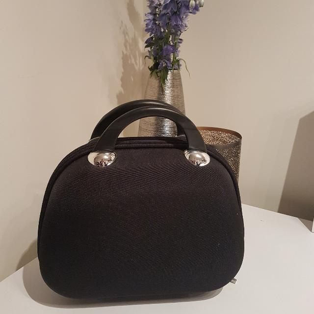 Black Hard Case Jewellery Travel Bag