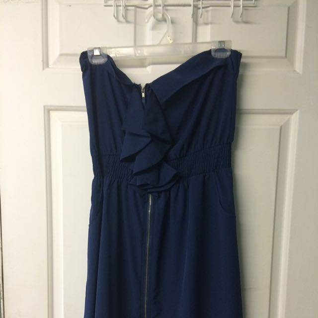 Blue Knee Dress