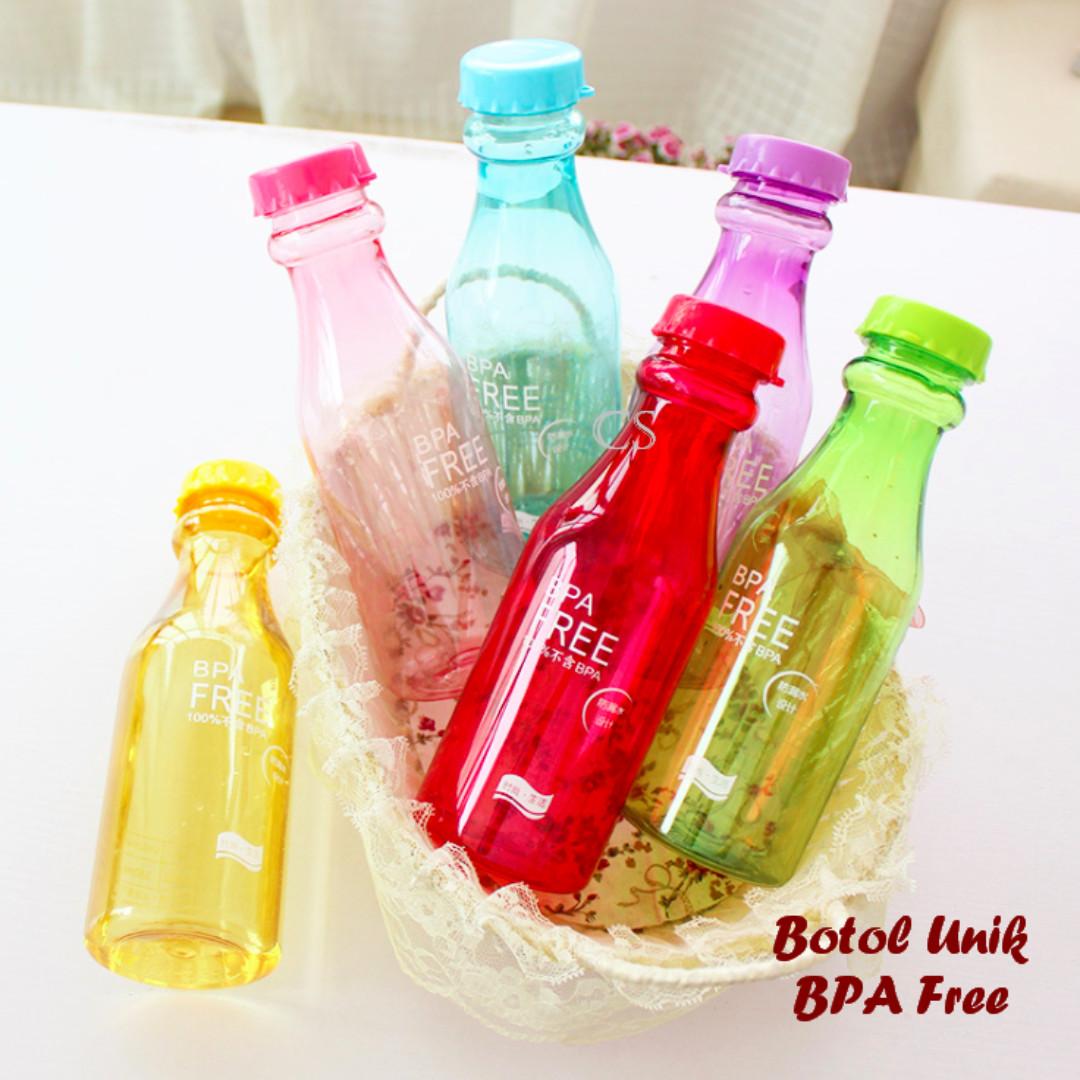 Botol Minum Unik Bpa Free Perabotan Rumah Di Carousell