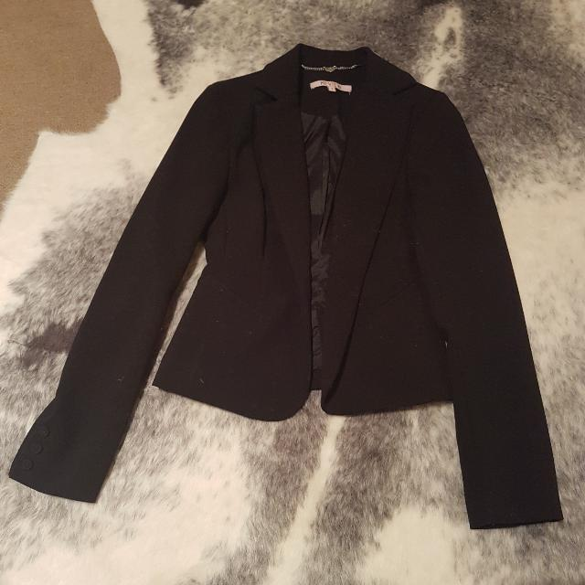 Brand New Black Review Jacket - Size 8