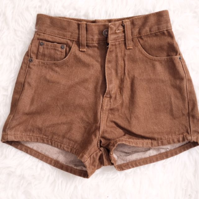 Brown Short Size S