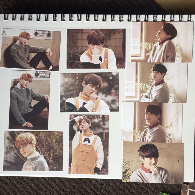 BTS 2nd Muster Zip Code 22920 Photo Card Jimin Jungkook V