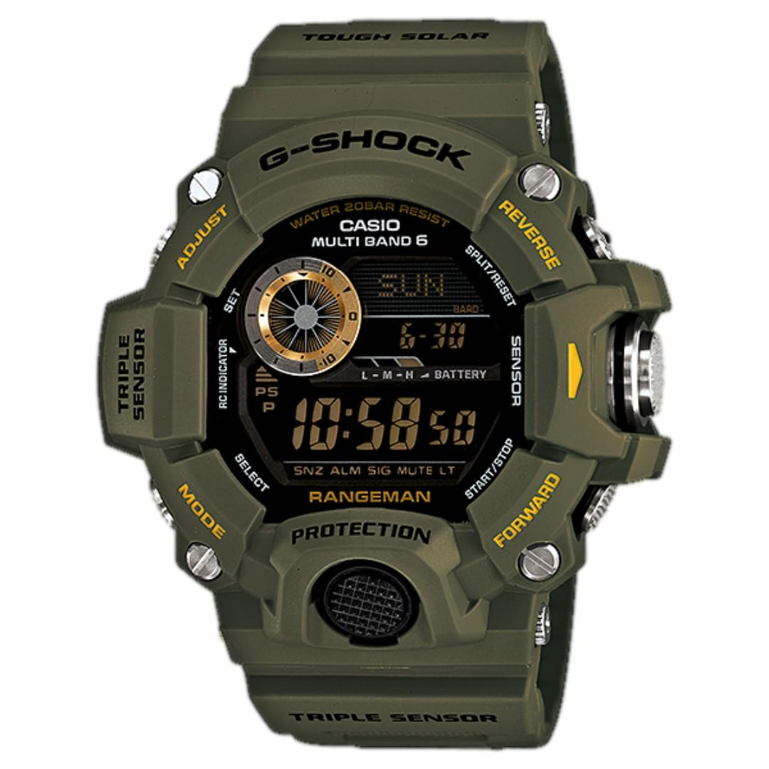 CASIO GW-9400-3DR G-SHOCK RANGE MAN MEN'S WATCH, Men's Fashion