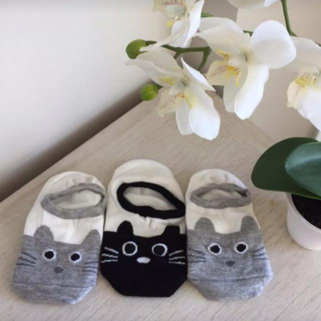 Cat Ankle Socks