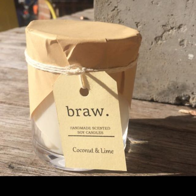 Coconut & Lime Handmade Soy Candle