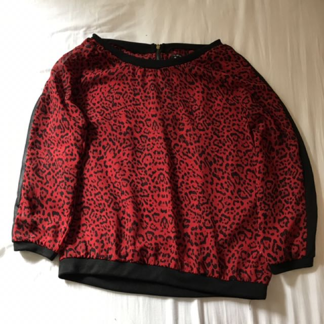 Colorbox Red Sweater