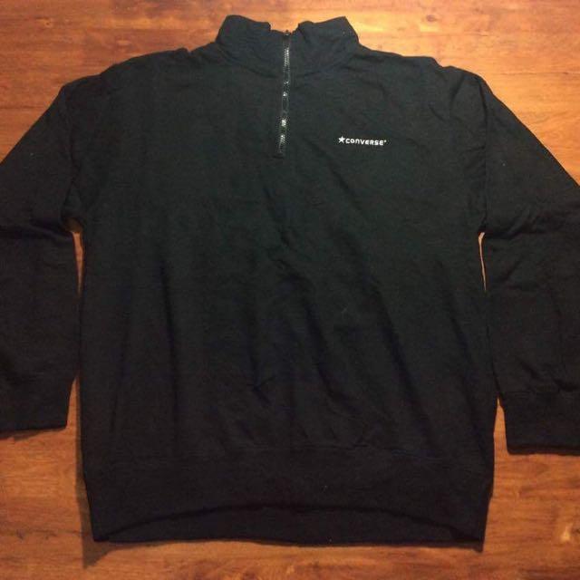 Converse All Star Sweatshirt Zip Up Vintage Shirt